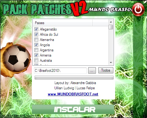 Super Pack de Patches 2011 para o Brasfoot 2010