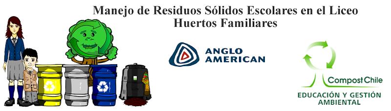 Manejo de residuos sólidos en Huertos Familiares