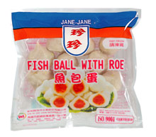 Bon 39 s kitchen fish and squid ball with shirataki for Fish ball with roe