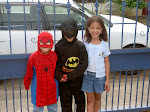 Batman, Spiderman and Mary Jane