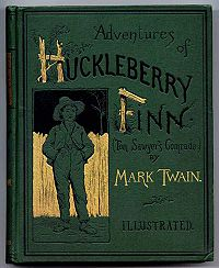 an analysis of the controversy of the adventures of huckleberry finn a novel by mark twain Although probably no other work of american literature has been the source of so much controversy, mark twain's the adventures of huckleberry finn is regarded by many as the greatest literary achievement america has yet produced inspired by many of the author's own experiences as a riverboat pilot, the book tells of.