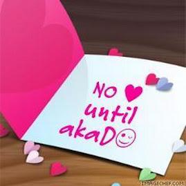 No Luve Until Akad...InsyaAllah..Mohon Allah permudahkan..