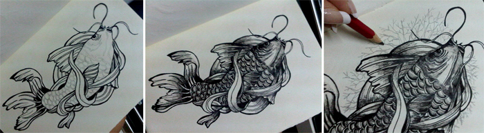 Dude wanted an unconventional japanese carp, or what we call the koi fish;