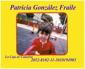 Patricia Gonzáles Fraile.