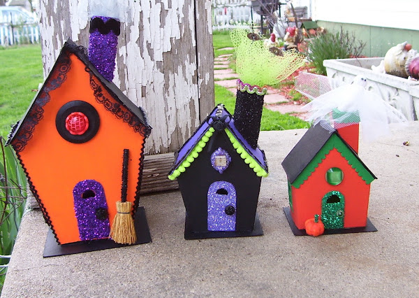 HALLOWEEN HOUSES FOR OUR TEXAS FRIEND DEE