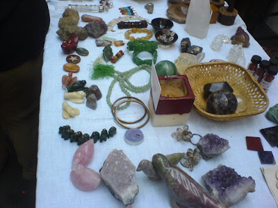 This Week at the Farmer's Market - Gems and stones