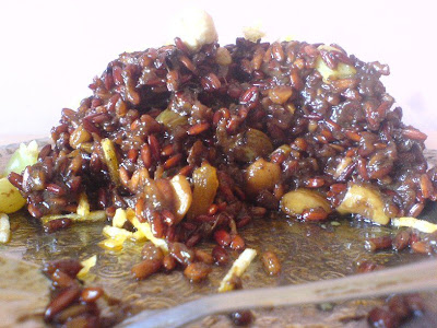 Onion, Cinnamon, and Dry Fruit Pilaf