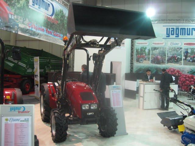Traktörü çapa makineleri ile tanınsa da artık güzel traktörler