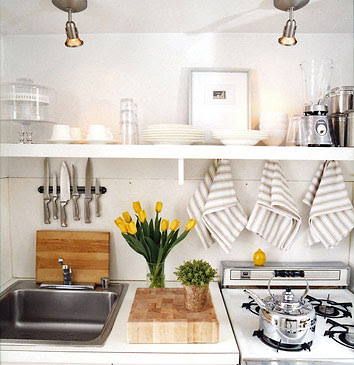 Small Apartment Kitchens