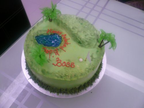 Nonis Creative Cakes Happy Belated Birthday Boss