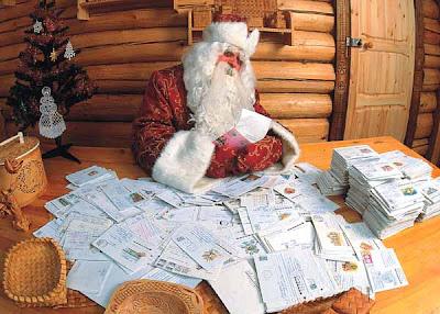 Санта и письма