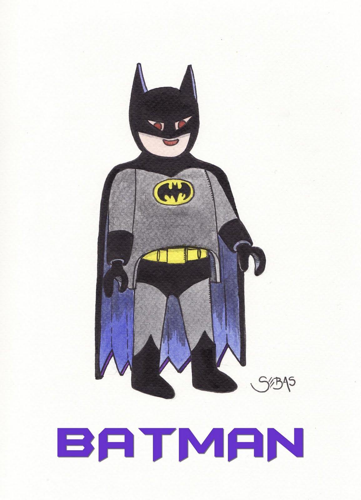 La estanteria de mi casa batman versi n playmobil - Batman playmobil ...