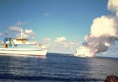 KAVACHI, Salomon Islands. Submarine volcan.