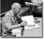 Robert A. Heinlein, uno de los posibles padres del principio de Hanlon
