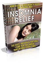 Insomnia Relief Ebook