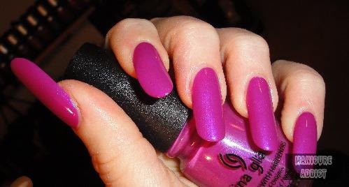manicure addict china glaze its poppin