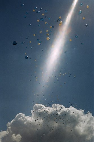 Balloons and Lightbeam