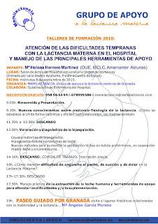 TALLER FORMACIÓN EN LACTANCIA MATERNA con HELENA HERRERO