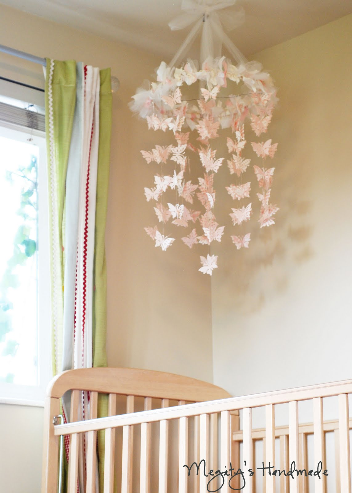 Megitys handmade butterfly chandelier mobile arubaitofo Image collections
