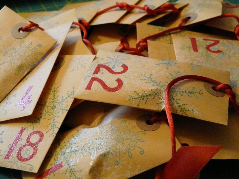 Advent Calendar Envelopes Ideas : Megity s handmade advent calendar ideas