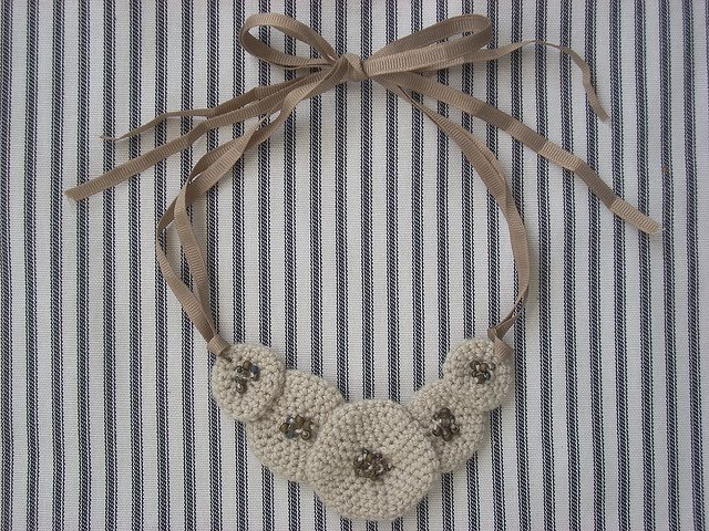Crochet Pattern: Staggered Blocks Bracelet