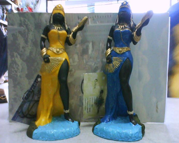 Imagens Oxum (Amarela--Azul)