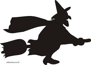 bruxa+bruxinha+vetor Halloween atividades para crianças