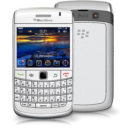 BlackBerry Bold White 9700