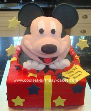 Mickey Mouse Cream Cake Images : mickey mouse cake amotleyyarn