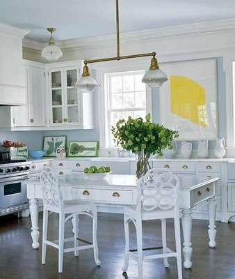 Habitually chic is your kitchen making you fat - Elle decor kitchens ...