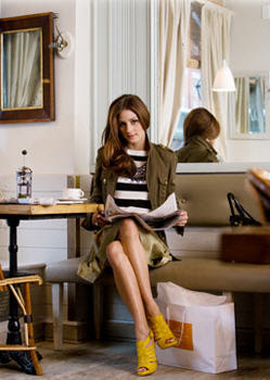 Habitually Chic®: Chic in NY: Roberta Freymann by Olivia Palermo