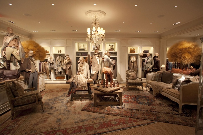 Ralph lauren for the ladies ellegant home design for Ralph lauren flagship store nyc