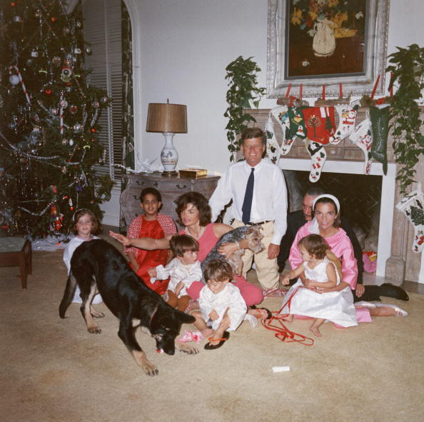 Habitually Chic®: The Kennedy Family at Christmas