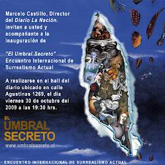 Exposición Internacional del Surrealismo  Actual - Invitación Diario La Nación.