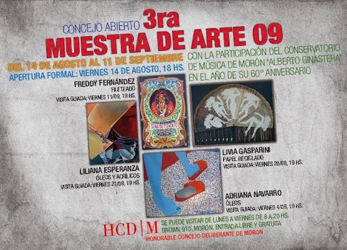 3ra MUESTRA DE ARTE 09