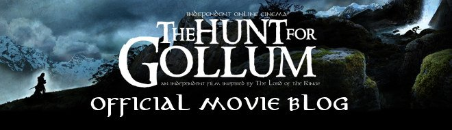 THE HUNT FOR GOLLUM - MOVIE BLOG