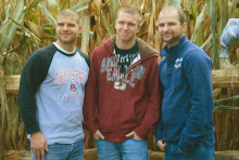3 of my 4 sons...