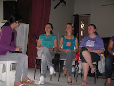 Esposas de Pastores no curso de Escola Bíblica.