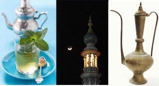 Objetos de decoração de origem árabe