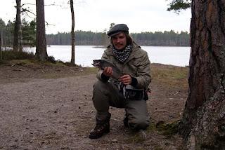 Flugfiske Hökensås 1.a Maj