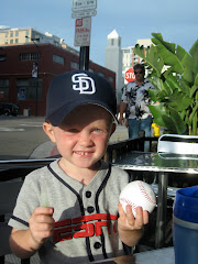 Nolan at Padres game