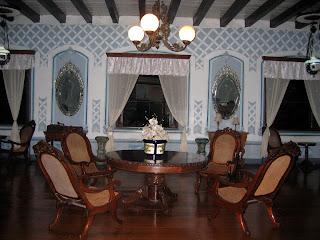 Living Room area at Villa Angela, Vigan