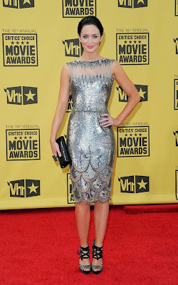 emily blunt Critics' Choice Awards