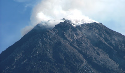 Foto Letusan Gunung Merapi