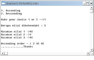 Program For Sorting Numbers In Ascending Order In Java