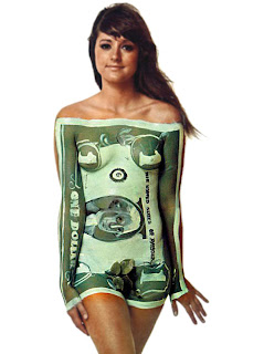 dollar style body painting