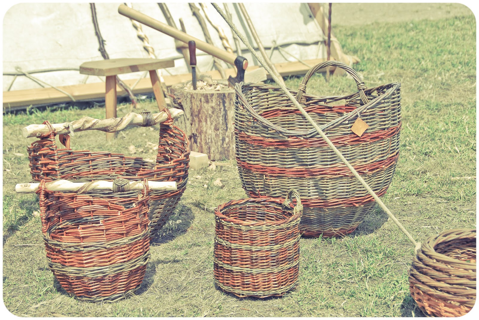 Basket Weaving Groups : Moments of perfect clarity we interrupt this interview