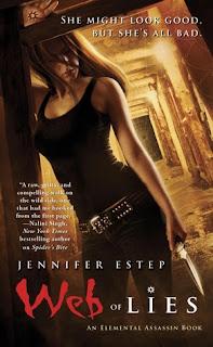Guest Review: Web of Lies by Jennifer Estep