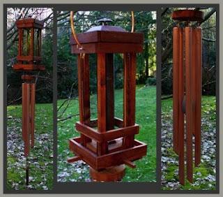 Art in the Garden: Wind Chime Artist