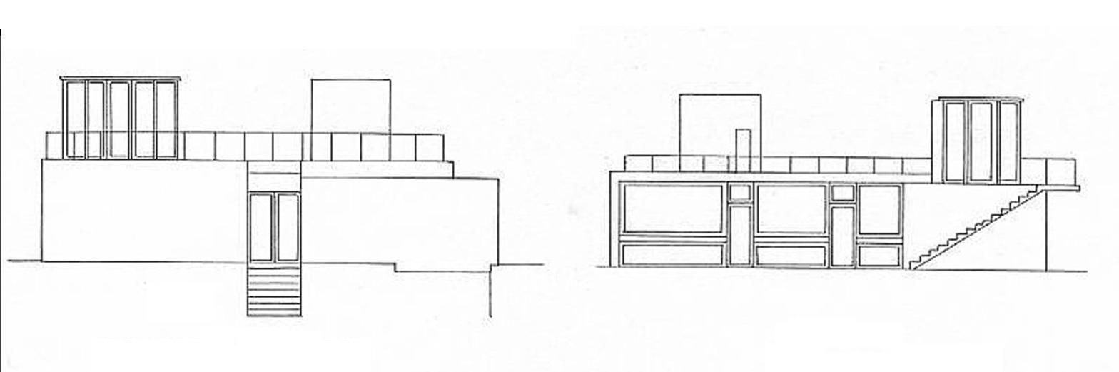 De un trazo nace la arquitectura planos - Alzado arquitectura ...